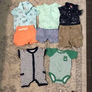 Boys 0-3 month boys summer clothes 🏄♂️